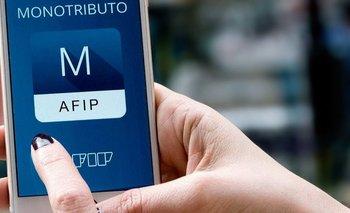La AFIP extendió beneficios para los monotributistas    Afip