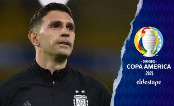 Emiliano Martínez,  de tener su chance por el COVID al arco de la Selección   Copa américa 2021