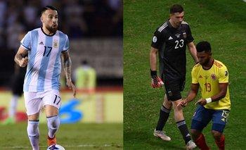 La burla de Otamendi a Borja que nadie vio: le bailó en su cara   Selección argentina