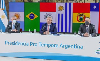 El mensaje de Alberto a Uruguay por querer romper el Mercosur | Mercosur