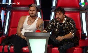 La Voz Argentina: La emoción de Mau y Ricky con un dúo de hermanos   La voz argentina