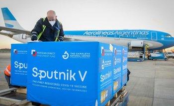 Llegaron 500 litros de principio activo para la segunda dosis de Sputnik | Segunda ola de coronavirus