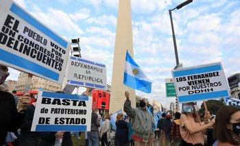 TN reconoció que no fue casi nadie a la marcha contra el Gobierno | Banderazo