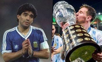 El día que Maradona le hizo un pedido especial a Messi | Copa américa 2021