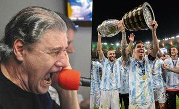 El emotivo relato de Víctor Hugo por Argentina campeón | Selección argentina