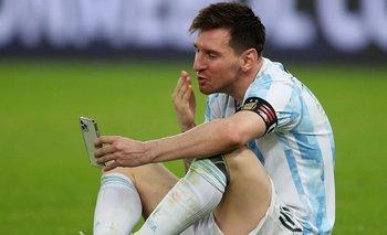Messi, emocionado: la intimidad de la videollamada con Antonela Roccuzzo   Lionel messi