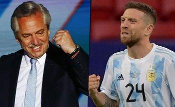 El mensaje del Papu Gómez a Alberto tras ganar la Copa América | Selección argentina