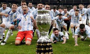 Rating: la Tv Pública arrasó con Argentina campeón de la Copa América | Televisión