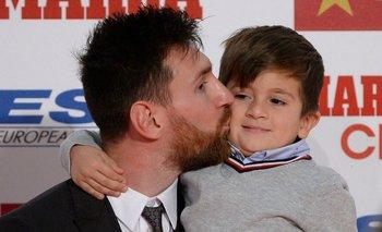 La tierna foto de Messi con su hijo Mateo tras ganar la Copa América | Selección argentina