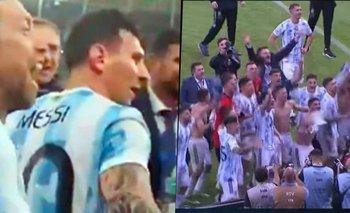 Messi le paró el carro a un compañero de la Selección Argentina | Selección argentina