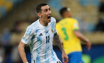 A lo Maradona: así terminó el tobillo de Di María en la final | Selección argentina