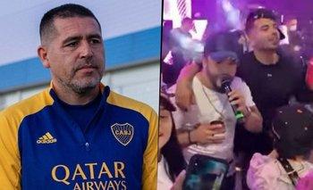 Cardona se fue de fiesta y en Boca están furiosos: el video que causó indignación | Edwin cardona