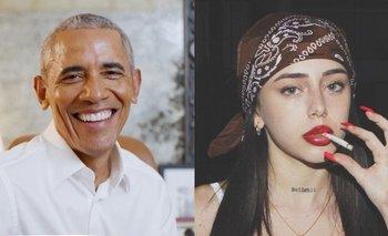 Barack Obama eligió un hit de la rosarina Nicki Nicole para su playlist | Música