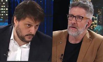 """La respuesta de Santoro que descolocó a Novaresio: """"¡No jodamos!""""   Luis novaresio"""