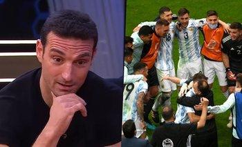 La dramática confesión de Scaloni con un jugador de la Selección | Selección argentina