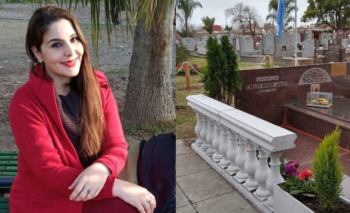 La nieta de Menem mostró una foto de su tumba con un fuerte mensaje | Carlos menem