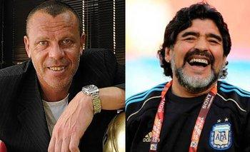 El Loco Montenegro recordó a Maradona con una emotiva historia | Farándula