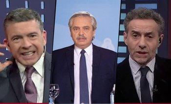 El vergonzoso ataque de Majul y Rossi contra Alberto Fernández | La nación