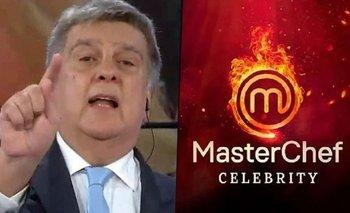 La amenaza de Luis Ventura tras ser llamado a MasterChef 3 | Luis ventura