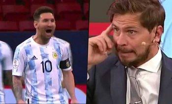 Así operó el Pollo Vignolo contra la Selección Argentina | Pollo vignolo