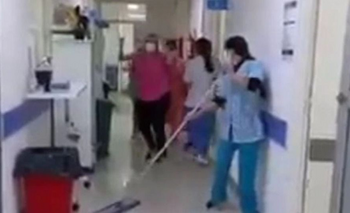 Festejaron el primer día sin pacientes Covid y se volvieron virales  | Covid