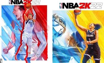 NBA 2K22: fecha de debut confirmada y Luka Dončić y Candace Parker en la portada | Gaming