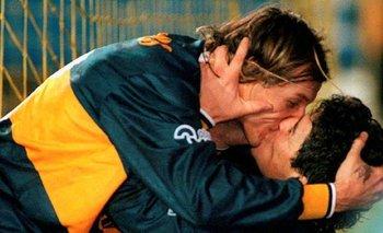 Se cumplen 25 años del beso de Maradona y Caniggia | Diego maradona