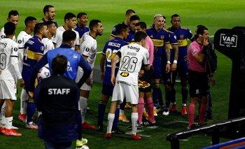 Los insólitos audios del VAR por el gol mal anulado a Boca   Copa libertadores