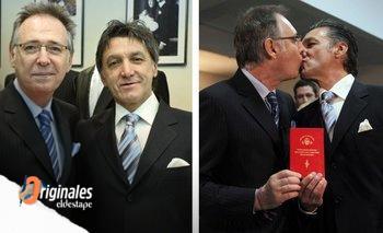 Alejandro Vannelli y Ernesto Larrese, una historia de amor de 45 años | A 11 años de un hito