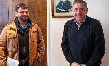 Alfredo de Angeli se reunió con el dirigente social Juan Grabois | Campo