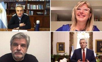 Rossi, Filmus y Álvarez Rodríguez alentaron a la militancia de cara a las elecciones 2021 | Elecciones 2021