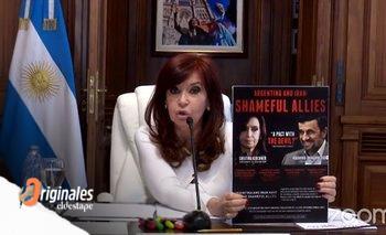 Lawfare, operación buitre y aviso interno: los mensajes de CFK | Memorándum con irán