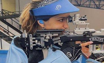 Fernanda Russo, la joven tiradora argentina que va por la gloria   Juegos olímpicos