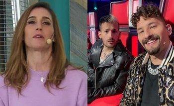 La Voz: La Sole escrachó a Mau y Ricky mientras iban al baño | Televisión