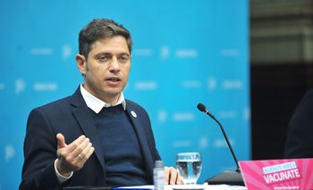 "Kicillof: ""Hay actividades que están en niveles anteriores a la pandemia""   Reactivación económica"