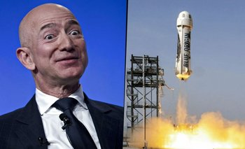 Jeff Bezos viaja al espacio: el video del increíble vuelo   Jeff bezos