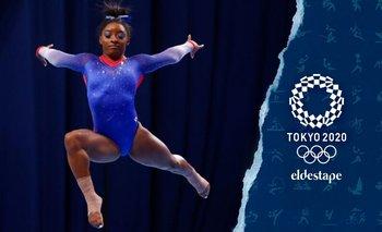 Simone Biles se retiró de la final del evento de piso en los Juegos  | Juegos olímpicos