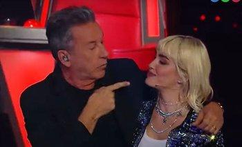 La reacción de Ricardo Montaner ante los exabruptos de Lali Espósito en La Voz Argentina   La voz argentina