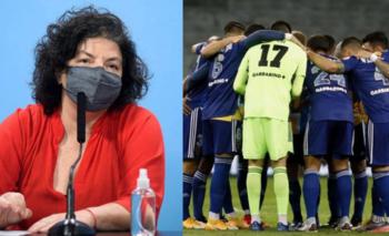 Vizzotti define si el plantel de Boca debe hacer aislamiento obligatorio    Boca juniors