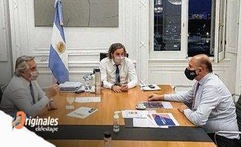 Perotti pasó por la Casa Rosada para confirmar sus candidatos | Elecciones 2021