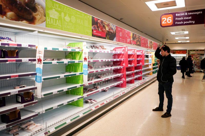 Crece el temor a la escasez de alimentos en el Reino Unido | Coronavirus