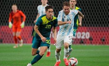 Duro tropiezo de Argentina en el debut en los Juegos Olímpicos | Juegos olímpicos