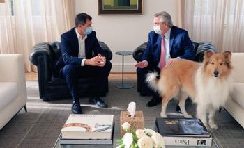 Alberto Fernández recibió a Bucca en Olivos | Elecciones 2021