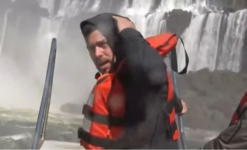 El mal momento de José Bianco en las Cataratas del Iguazú | Televisión