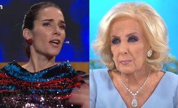"La dura amenaza de Juana Viale que enojó a Mirtha Legrand: ""¡No digas eso!""   Juana viale"