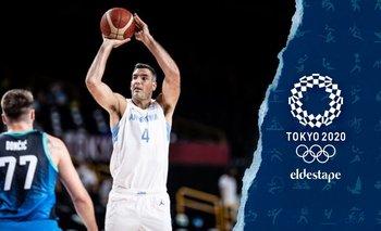 Argentina cayó en el debut de Tokio 2020 ante Eslovenia | Juegos olímpicos