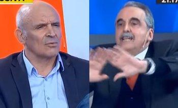 "Explosiva pelea de Guillermo Moreno contra Espert en TV: ""Ortiva""   Política"