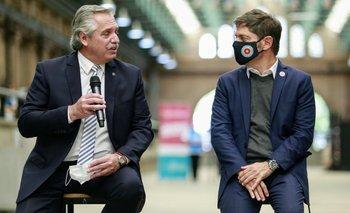Procrear II: Alberto y Axel, juntos en el primer acto tras el cierre de listas    Elecciones 2021
