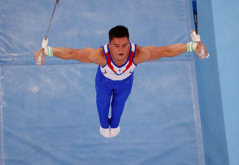 Los gimnastas de Rusia pudieron con una remontada de China y Japón  | Juegos olímpicos