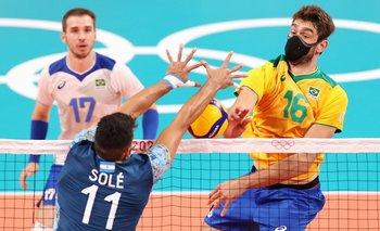 El vóley argentino estuvo al borde de la hazaña pero cayó contra Brasil | Juegos olímpicos